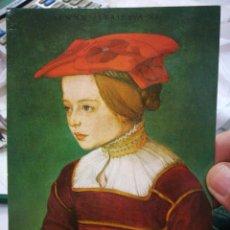 Postales: POSTAL MADCHENBILDNIS SUDDEUTSCH UN 1530 TIROLER LANDESMUSEUM FERDINANDEUM INNSBRUCK S/C. Lote 220754323