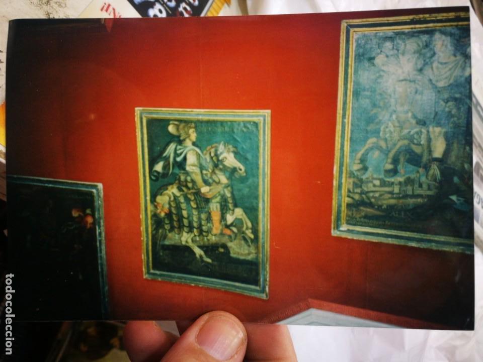 FOTOGRAFÍA DE CUADROS DE LA ESCUELA DE CUZCO AÑOS OCHENTA ORIGINAL (Postales - Postales Temáticas - Dibujos originales y Grabados)