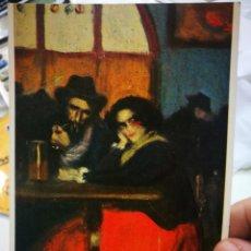 Postales: POSTAL PICASSO INTERIOR DE LOS 4 GATS 1899 N 273 LA POLIGRAFA ESCRITA Y SELLADA. Lote 220772793