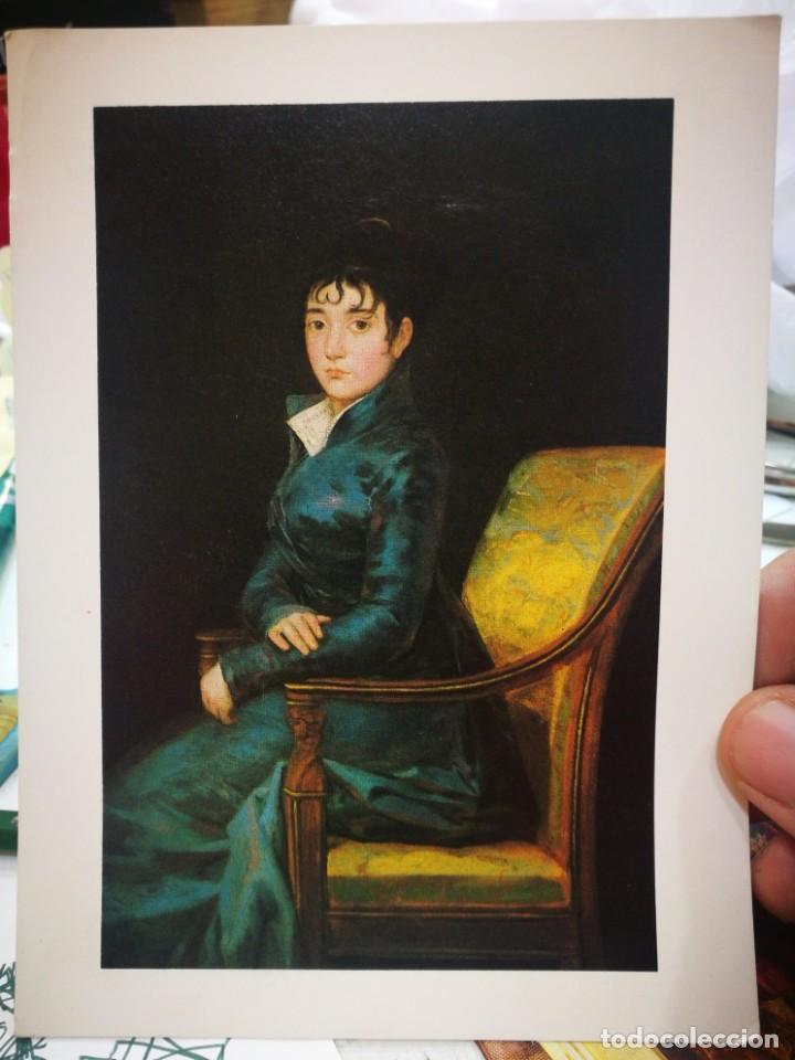 FOTOGRAFÍA FRANCISCO DE GOYA 1746 - 1828 DOÑA TERESA DUREZA C.1805 NATIONAL GALLERY OF ART WASHINGTO (Postales - Postales Temáticas - Dibujos originales y Grabados)