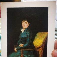 Postales: FOTOGRAFÍA FRANCISCO DE GOYA 1746 - 1828 DOÑA TERESA DUREZA C.1805 NATIONAL GALLERY OF ART WASHINGTO. Lote 222049045