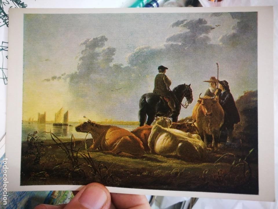 Postales: Postal CUYP Albert 1620 - 1691 NATIONAL GALLERY Card N 1453 S/C - Foto 1 - 222053652