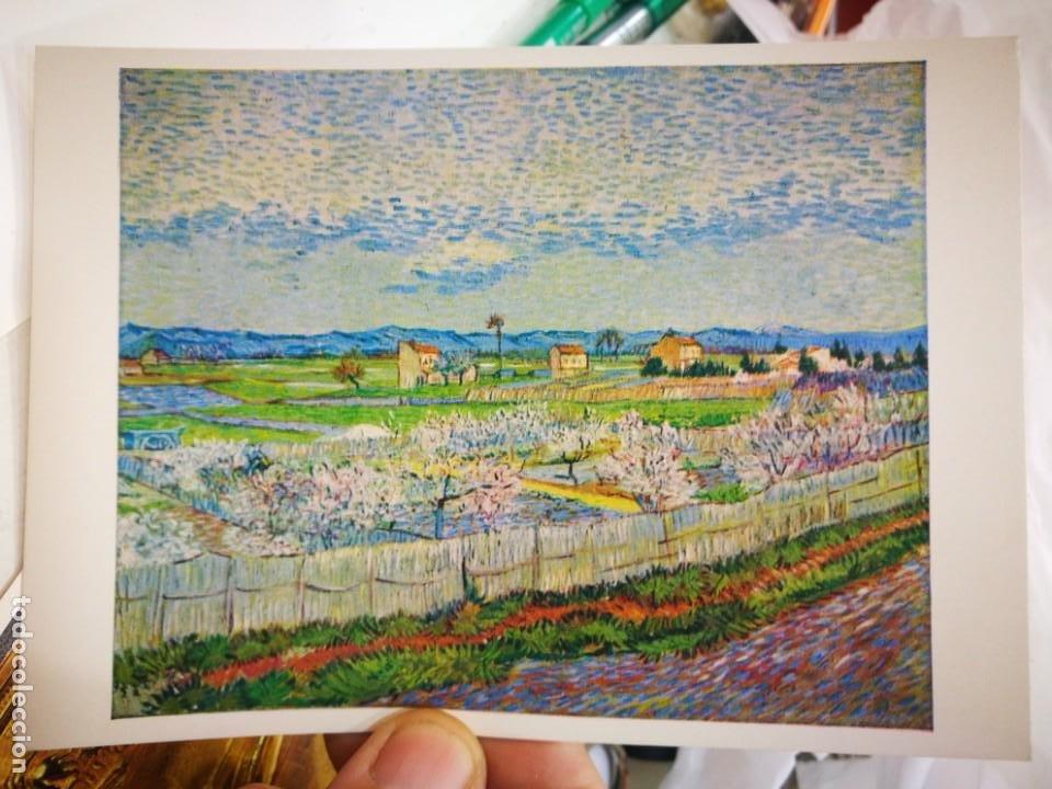 POSTAL VINCENT VAN GOGH 1853 - 1890 THE ORVHARD 1889 PALLAS POSTCARD 1050 ENGLAND S/C (Postales - Postales Temáticas - Dibujos originales y Grabados)