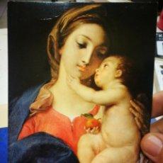 Postales: POSTAL POMPEO BATONI 1708 - 1787 MADONNA COL BAMBINO ROMA GALLERIA BORGHESE S/C. Lote 222056430