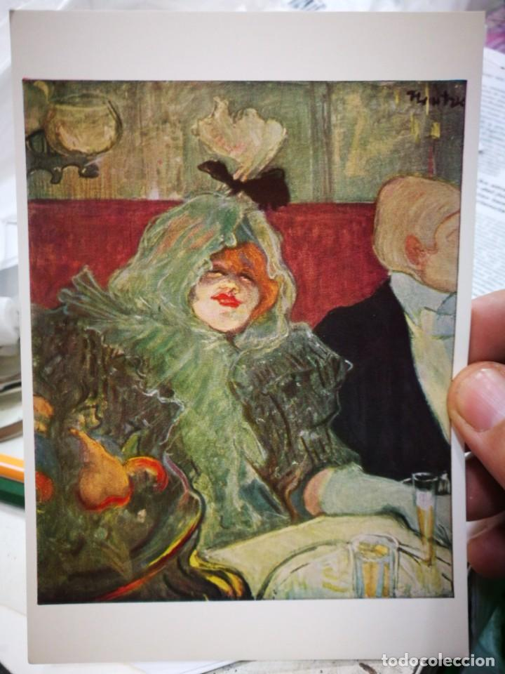 Postales: Postal HENRI DE TOULOUSE LAUTREC 1864 - 1901 La Chambre Separee 1899 COURTAULD Instituto GALLERIES U - Foto 1 - 222070677