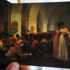 Postales: POSTAL MEUNIER CONSTANTINO 1831 - 1905 MANUFACTURE DE TABACO A SEVILLA MUSEO ROYAUX DES BEAUX ARTS. Lote 222072972