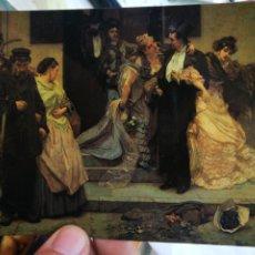 Postales: POSTAL HERMANS CHARLES 1839 - 1924 A L'AUBE 1875 MUSEES ROYAUX DES BEAUX ARTS BELGIQUE S/C. Lote 222113062