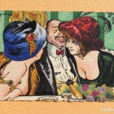 Postales: ELEGANTE DIBUJO J. FIGUERAS - 1914. Lote 227845250