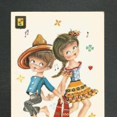 Postales: POSTAL SIN CIRCULAR DIBUJO - EDITA ESCUDO DE ORO 3015/3. Lote 246044405