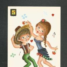 Postales: POSTAL SIN CIRCULAR DIBUJO - EDITA ESCUDO DE ORO 3015/4. Lote 246044700