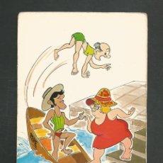 Postales: POSTAL CIRCULADA DICUJO - VACACIONES 501 - EDITA SAVIR. Lote 246046595