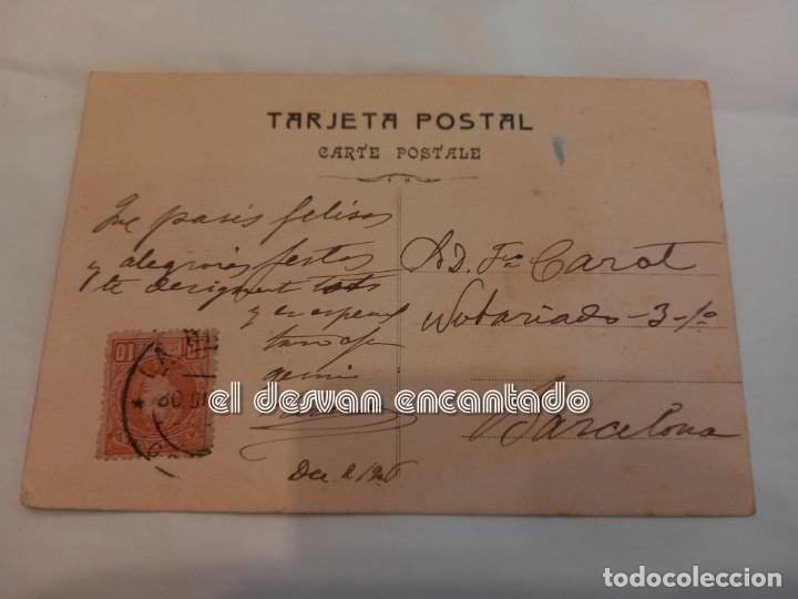 Postales: CU-CUT. Antigua postal ilustrada tinta y acuarela. Obra original firmada - Foto 2 - 251371690