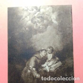 Postales: LOTE DOS POSTALES ANTIGUAS DE CUADROS DE MURILLO, MUSEO PROVINCIAL DE SEVILLA SIN CIRCULAR - Foto 3 - 256011865