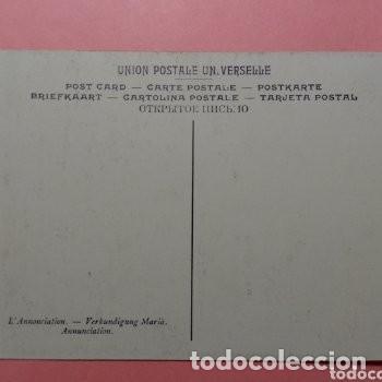 Postales: LOTE DOS POSTALES ANTIGUAS DE CUADROS DE MURILLO, MUSEO PROVINCIAL DE SEVILLA SIN CIRCULAR - Foto 4 - 256011865