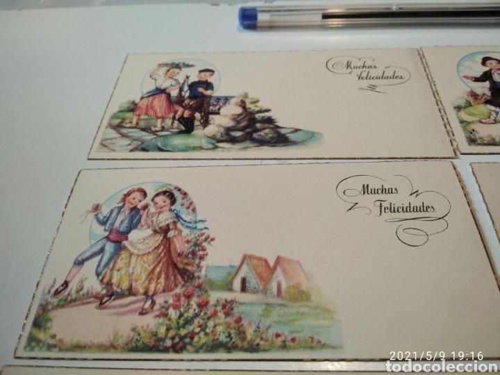 Postales: 10 tarjetas felicidades, regiones de España - Foto 2 - 262108110