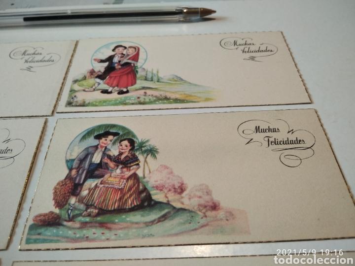 Postales: 10 tarjetas felicidades, regiones de España - Foto 3 - 262108110