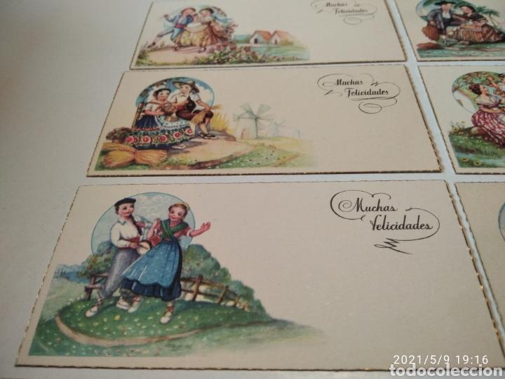 Postales: 10 tarjetas felicidades, regiones de España - Foto 4 - 262108110