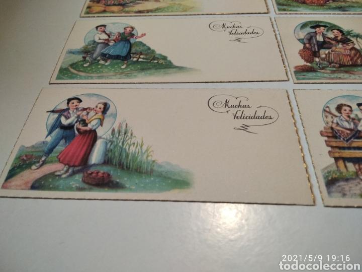 Postales: 10 tarjetas felicidades, regiones de España - Foto 7 - 262108110