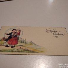 Postales: MUCHAS FELICIDADES TARJETA. Lote 262643380