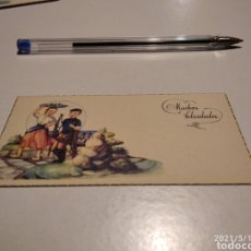 Postales: TARJETA MUCHAS FELICIDADES. Lote 262643535