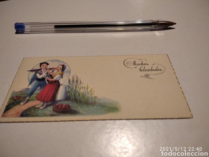 MUCHAS FELICIDADES (Postales - Postales Temáticas - Dibujos originales y Grabados)