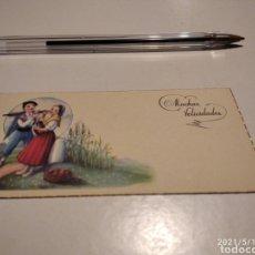 Postales: MUCHAS FELICIDADES. Lote 262643645