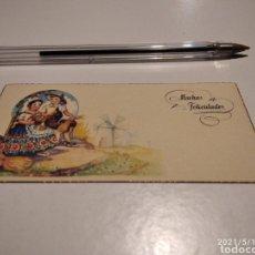 Postales: MUCHAS FELICIDADES TARJETA REGIONES DE ESPAÑA. Lote 262643820