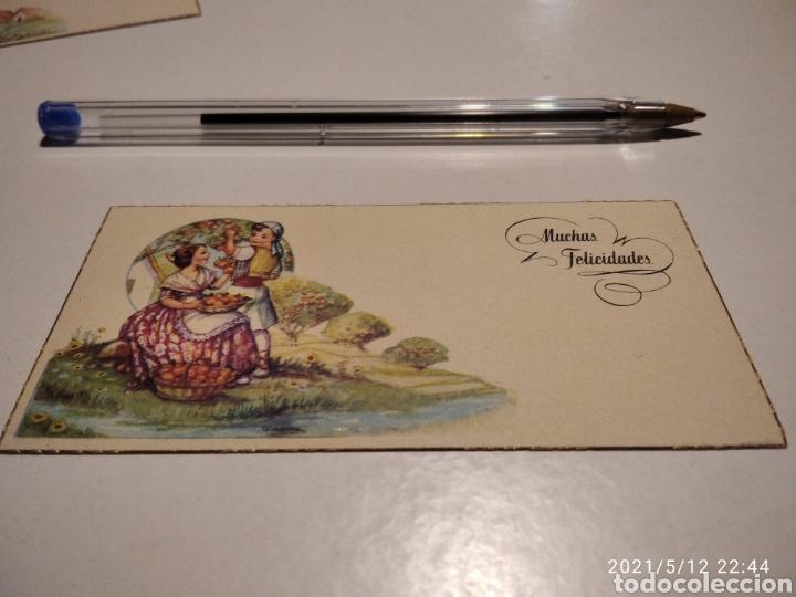 MUCHAS FELICIDADES TARJETA REGIONES DE ESPAÑA VALENCIA NARANJAS (Postales - Postales Temáticas - Dibujos originales y Grabados)