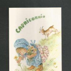 Cartoline: POSTAL SIN CIRCULAR HOROSCOPO CAPRICORNIO EDITA CYZ 6001-A. Lote 265480579