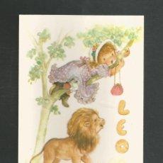 Cartoline: POSTAL SIN CIRCULAR HOROSCOPO LEO EDITA CYZ 6002-D. Lote 265480654