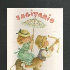 Cartoline: POSTAL SIN CIRCULAR DIBUJO HOROSCOPO SAGITARIO EDITA CYZ 6003-A. Lote 265480894