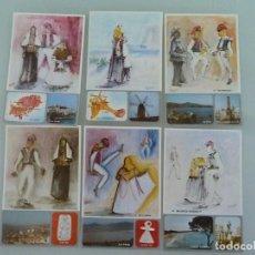 Cartes Postales: COLECCIÓN 12 LÁMINAS FOLKLORE IBIZA Y FORMENTERA. 1981. Lote 267406164