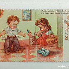 Postales: POSTAL ILUSTRADA GERMÁN. GARRABELLA. ED. LUKER. SERIE Nº 4104. ESCRITA EN 1949. Lote 267529964