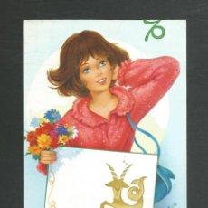Postales: POSTAL ESCRITA PERO NO CIRCULADA HOROSCOPO CAPRICORNIO EDITA CYZ 6069-C. Lote 269709408