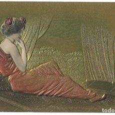 Cartes Postales: POSTAL - ART NOUVEAU - RELIEVE - SIN DIVIDIR - NUEVA. Lote 274442993