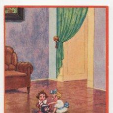 Postales: POSTAL DIBUJOS NIÑOS ILUSTRADOR HERSCHU HERBERT SCHULTZ AÑOS 20 S/C. Lote 275074453