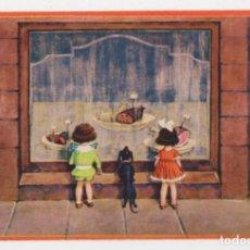 Postales: POSTAL DIBUJOS NIÑOS ILUSTRADOR HERSCHU HERBERT SCHULTZ AÑOS 20 S/C. Lote 275074488