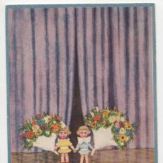 Postales: POSTAL DIBUJOS NIÑOS ILUSTRADOR HERSCHU HERBERT SCHULTZ AÑOS 20 S/C. Lote 275074568