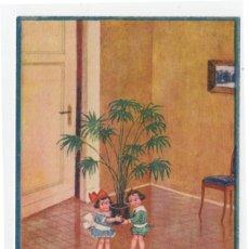 Postales: POSTAL DIBUJOS NIÑOS ILUSTRADOR HERSCHU HERBERT SCHULTZ AÑOS 20 S/C. Lote 275074588