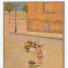 Postales: POSTAL DIBUJOS NIÑOS ILUSTRADOR HERSCHU HERBERT SCHULTZ AÑOS 20 S/C. Lote 275074973