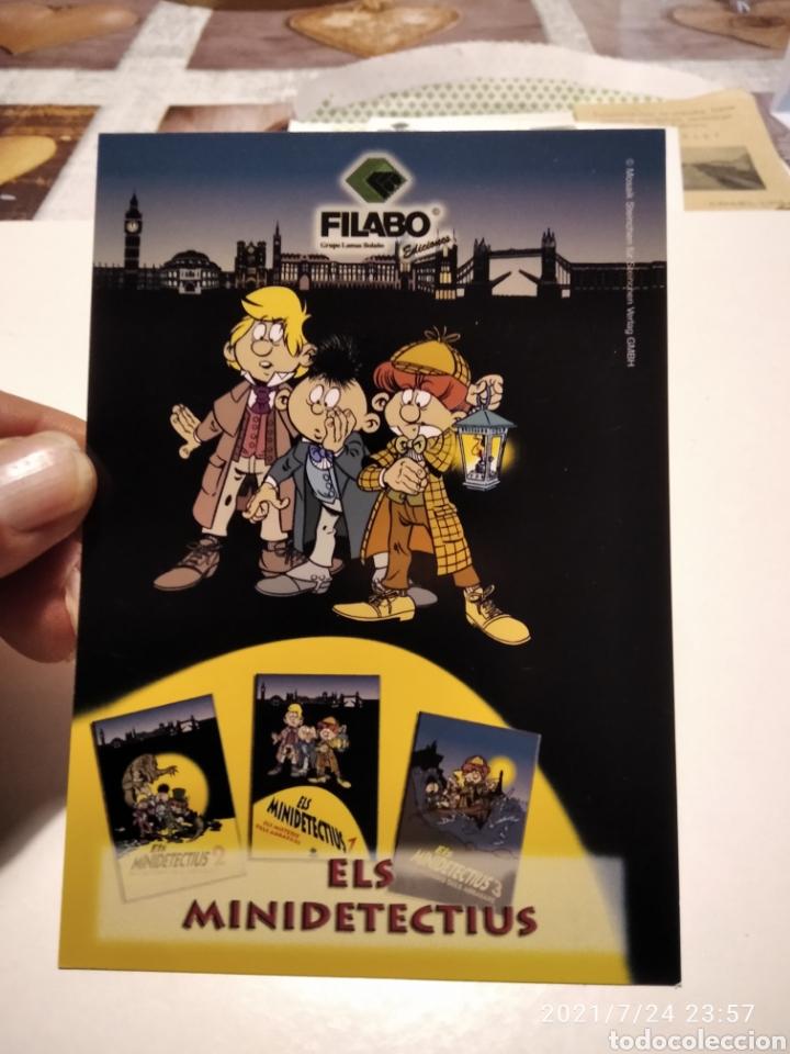 POSTAL FILABO COMICS ELS MINIDETECTIUS (Postales - Postales Temáticas - Dibujos originales y Grabados)