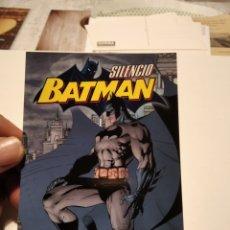 Postales: POSTAL SILENCIO BATMAN NORMA EDITORIAL. Lote 277200303