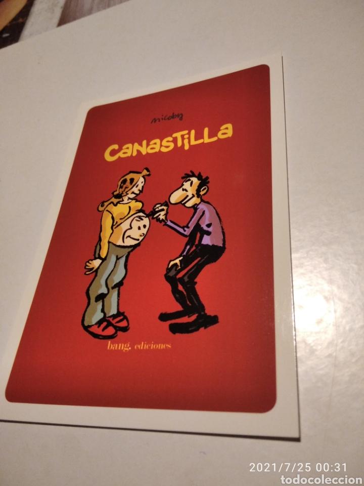 POSTAL COMICS CANASTILLA (Postales - Postales Temáticas - Dibujos originales y Grabados)