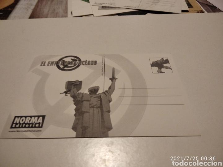 Postales: Postal comics norma Editorial El emperador oceano 3 la tumba - Foto 2 - 277200728
