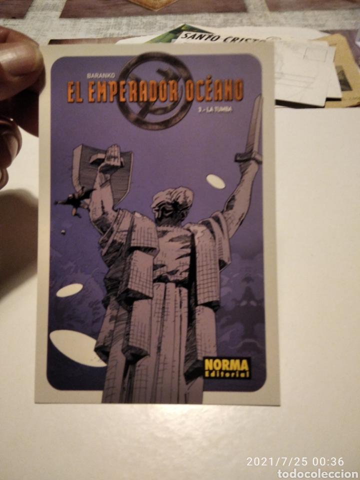 POSTAL COMICS NORMA EDITORIAL EL EMPERADOR OCEANO 3 LA TUMBA (Postales - Postales Temáticas - Dibujos originales y Grabados)