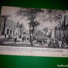 Postales: POSTAL DIBUJO GRABADO PLÀ DE LAS COMEDIAS THOMAS. Lote 280312108