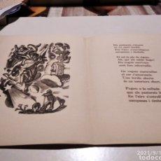 Postales: POSTAL FELICITACIÓN NAVIDEÑA J. ORIOLS 1942. Lote 287044598