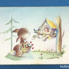 Postales: POSTAL SIN CIRCULAR DIBUJO EDITA CYZ 521/B. Lote 292527883
