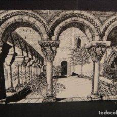 Postales: SAN JUAN DE LA PEÑA - DIBUJO DE CEFERINO , EDI, HERALDO DE ARAGON - SIN CIRCULAR. Lote 293819478