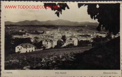 TARJETA POSTAL DE NAVIA Nº1 - VISTA GENERAL (Postales - España - Sin Clasificar Moderna (desde 1.940))